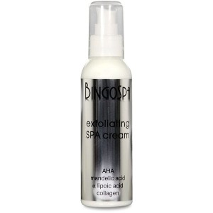 BingoSpa Exfoliating SPA  cream with AHA acid, mandelic acid, alpha-lipoic acid and collagen